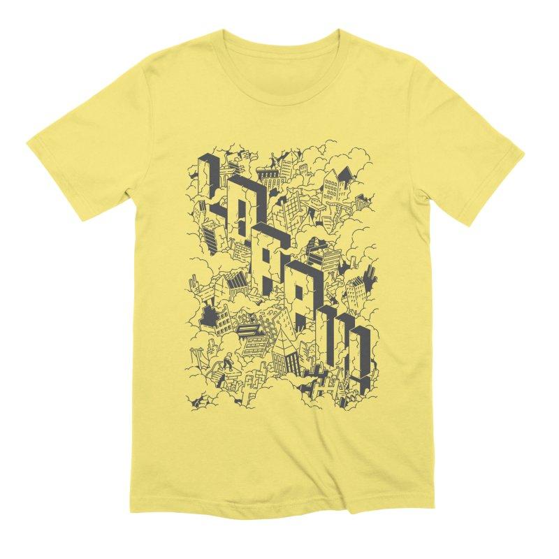 Loppu! Design #2 Men's T-Shirt by Mikko Saarainen's Artist Shop