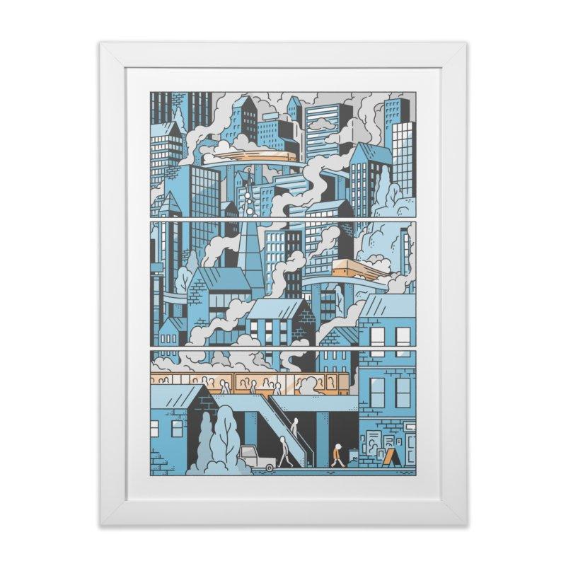 Loppu! Wall Art #5 Home Framed Fine Art Print by Mikko Saarainen's Artist Shop