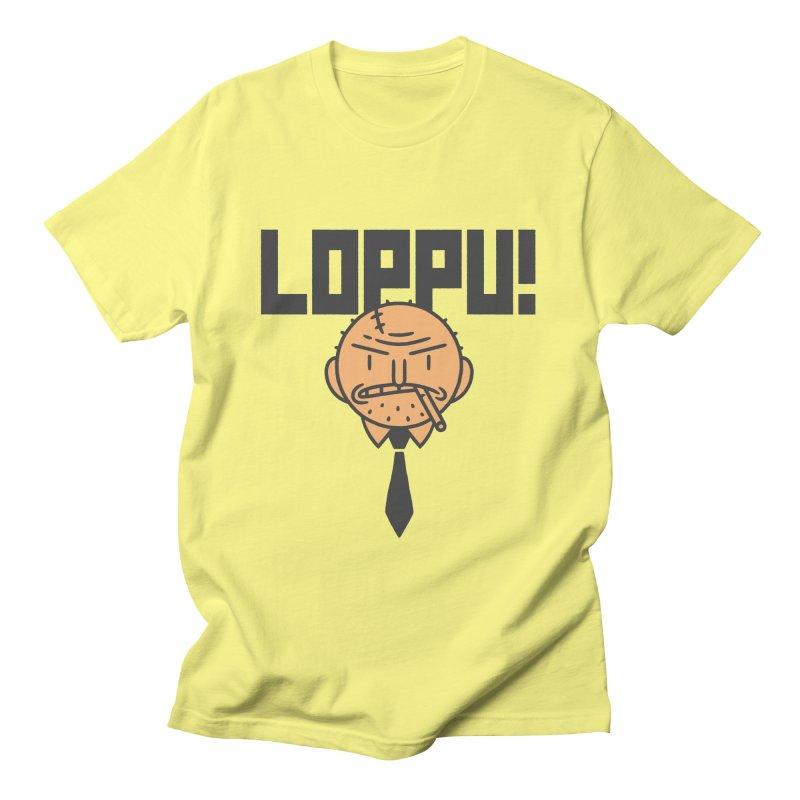 Loppu! Design #9 Men's T-Shirt by Mikko Saarainen's Artist Shop