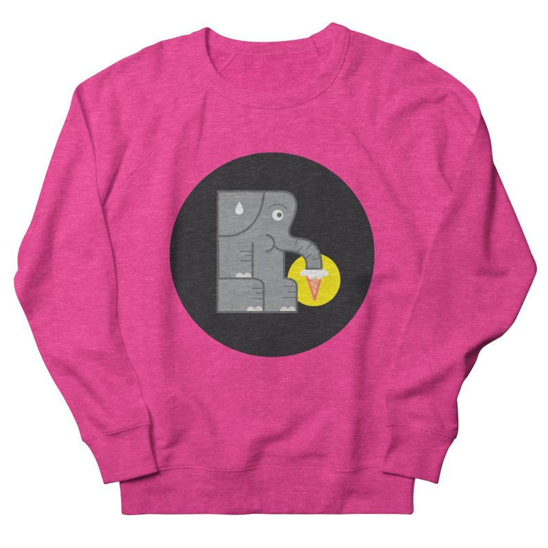 Elephant Ice Cream Men's Sweatshirt by milanrubio's Artist Shop