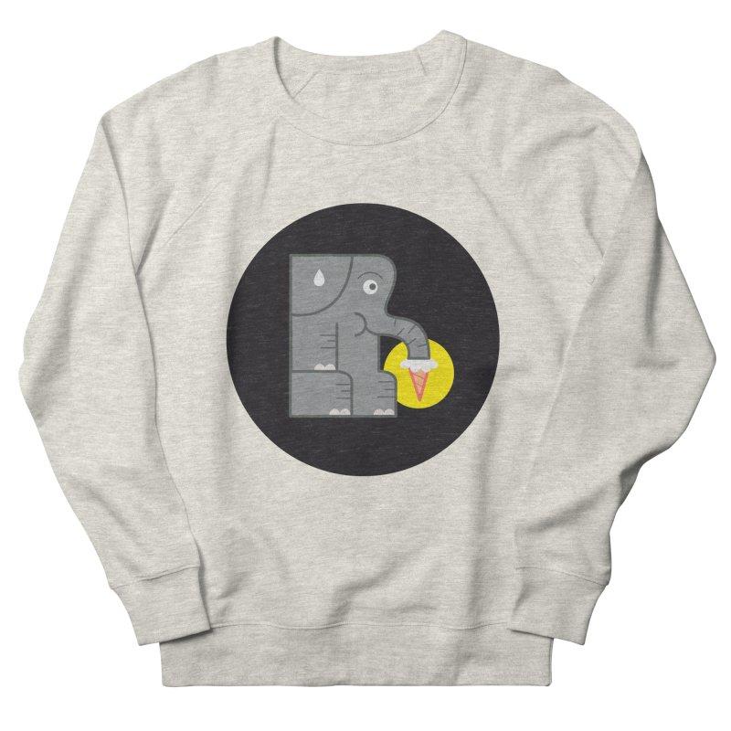 Elephant Ice Cream Men's Sweatshirt by milanrubio's Artist Shop