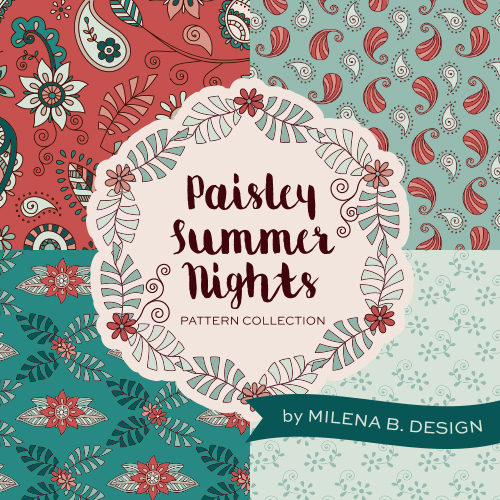 Paisley-Summer-Nights-Surface-Pattern-Collection