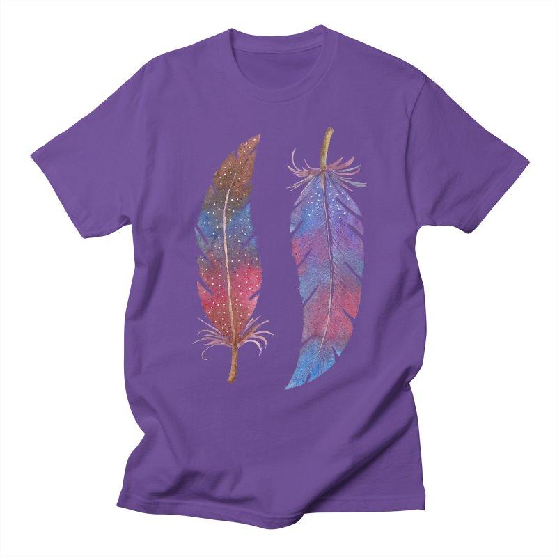 Feathers Women's T-Shirt by milenabdesign's Artist Shop