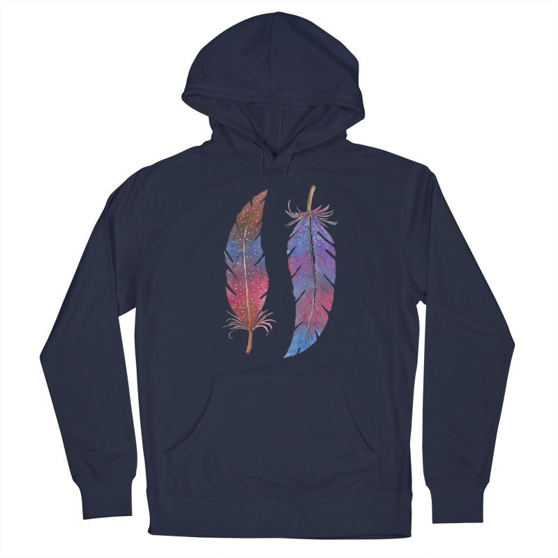 Feathers Men's Pullover Hoody by milenabdesign's Artist Shop