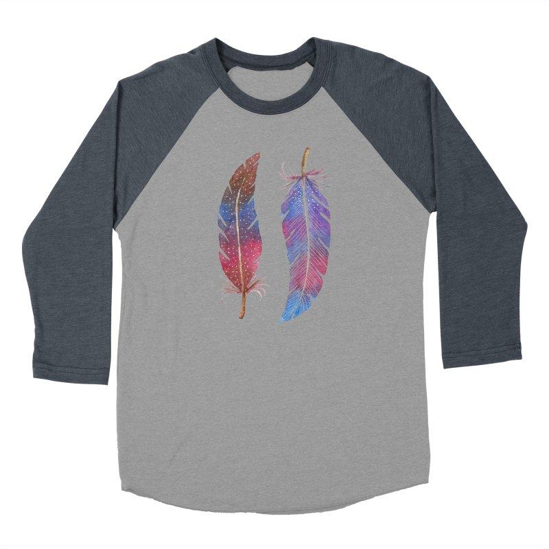 Feathers Women's Longsleeve T-Shirt by milenabdesign's Artist Shop