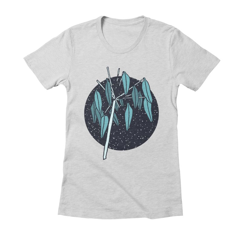 Love Seeds Women's Fitted T-Shirt by milenabdesign's Artist Shop