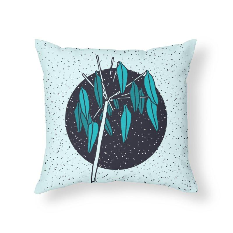 Love Seeds Home Throw Pillow by milenabdesign's Artist Shop