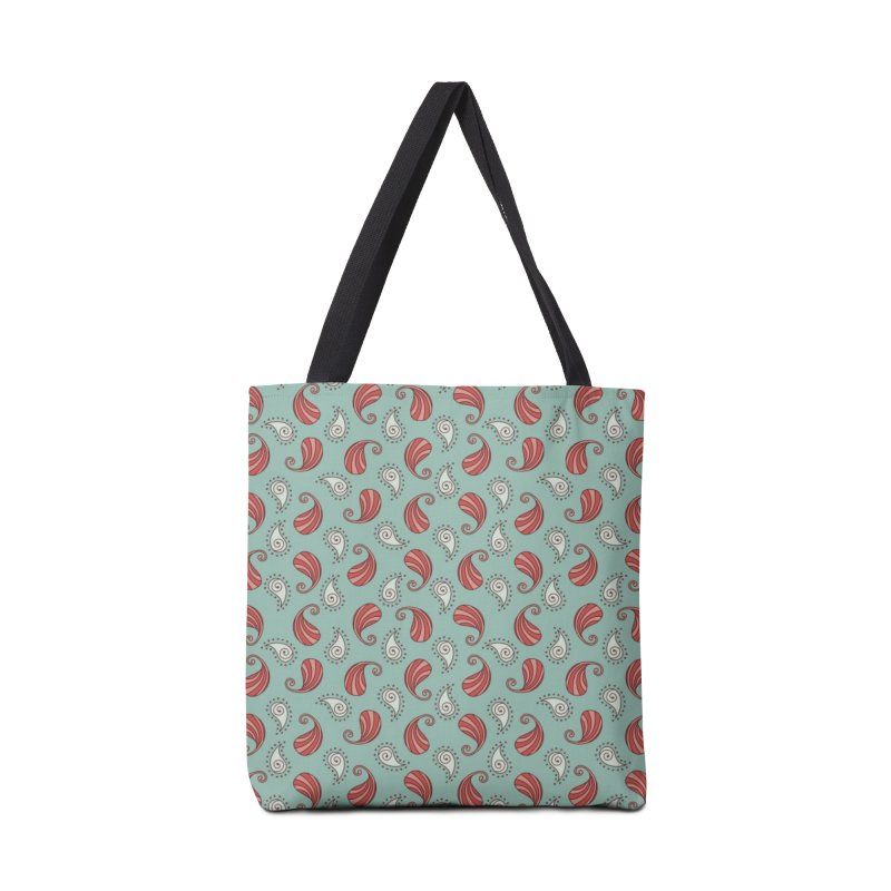 Paisley Candy Drops Accessories Bag by milenabdesign's Artist Shop