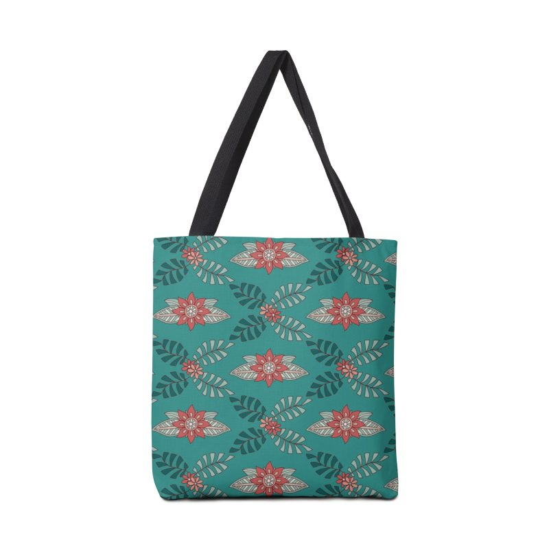 Paisley Floral Accessories Tote Bag Bag by milenabdesign's Artist Shop