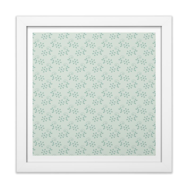 Paisley Breeze Home Framed Fine Art Print by milenabdesign's Artist Shop
