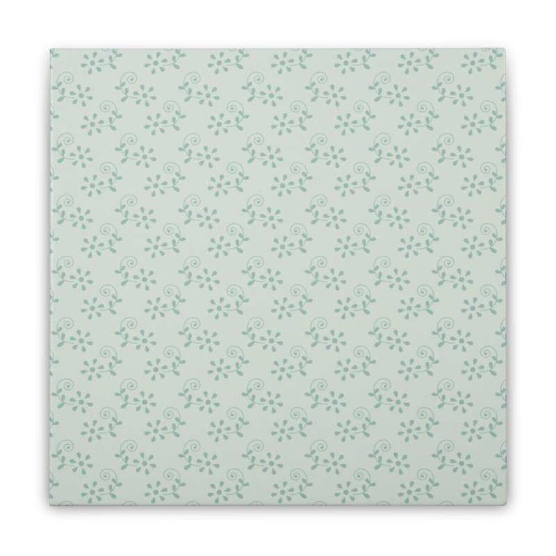 Paisley Breeze Home Stretched Canvas by milenabdesign's Artist Shop