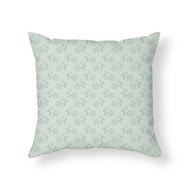 Paisley Breeze Home Throw Pillow by milenabdesign's Artist Shop