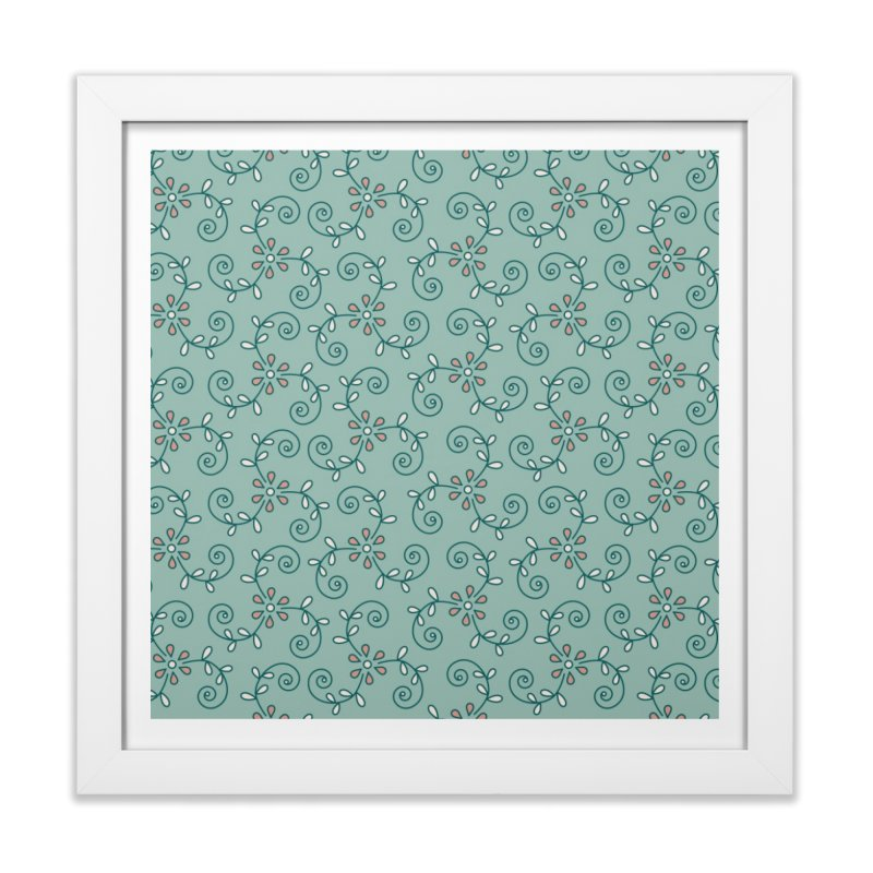 Paisley Wind Home Framed Fine Art Print by milenabdesign's Artist Shop