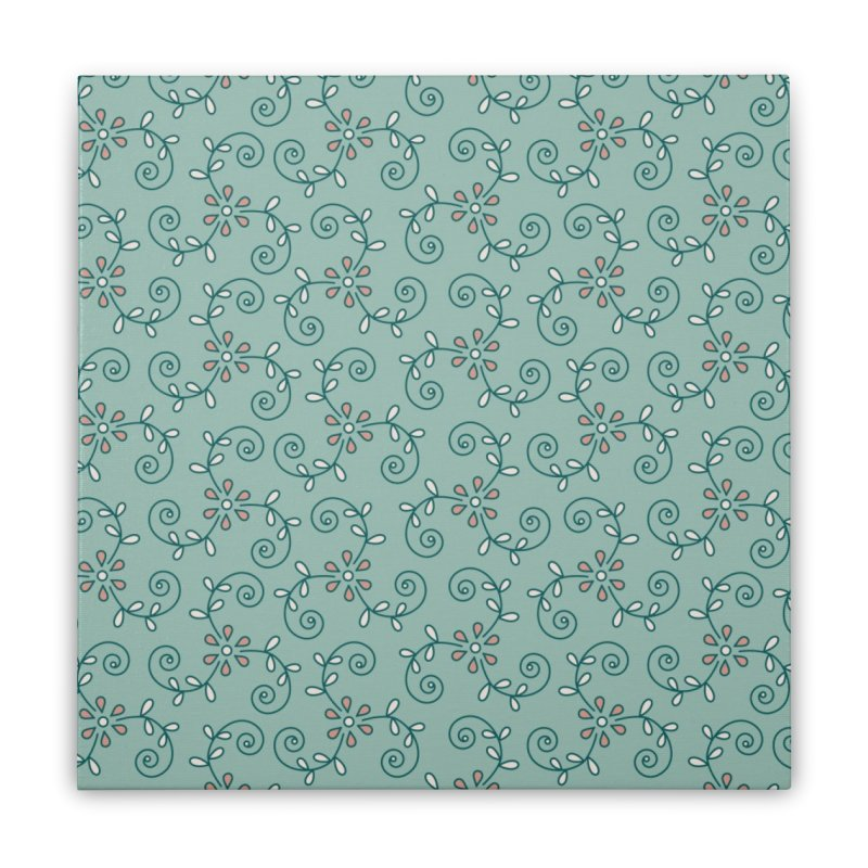 Paisley Wind Home Stretched Canvas by milenabdesign's Artist Shop