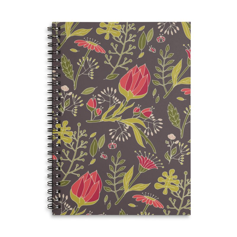 Sylvan Escape - Theme Accessories Lined Spiral Notebook by milenabdesign's Artist Shop