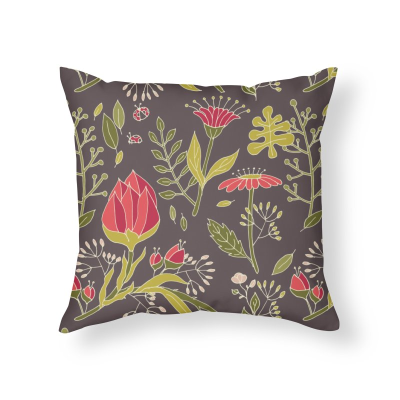 Sylvan Escape - Theme Home Throw Pillow by milenabdesign's Artist Shop