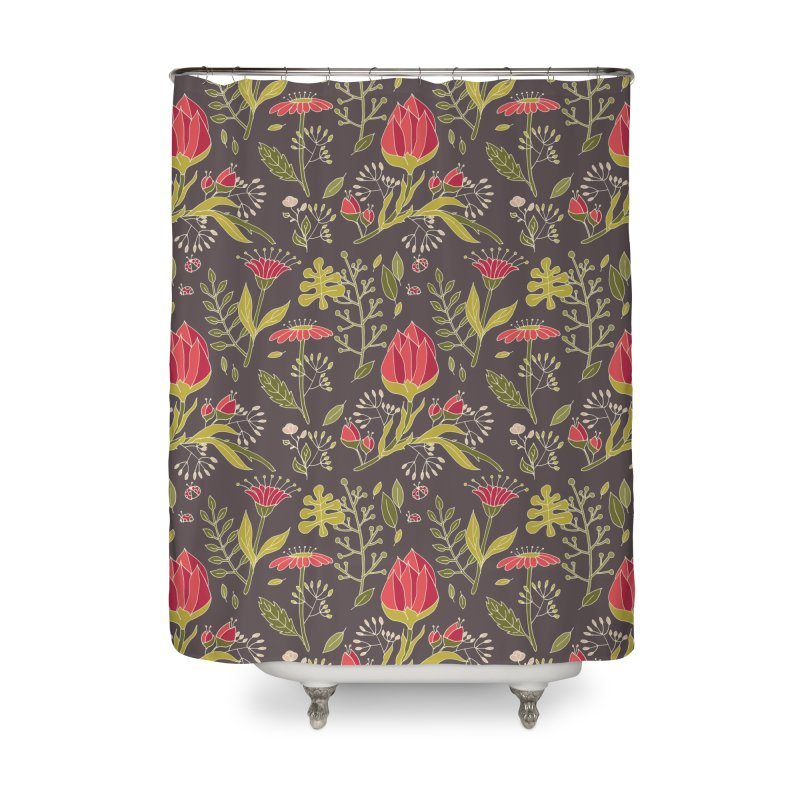 Sylvan Escape - Theme Home Shower Curtain by milenabdesign's Artist Shop