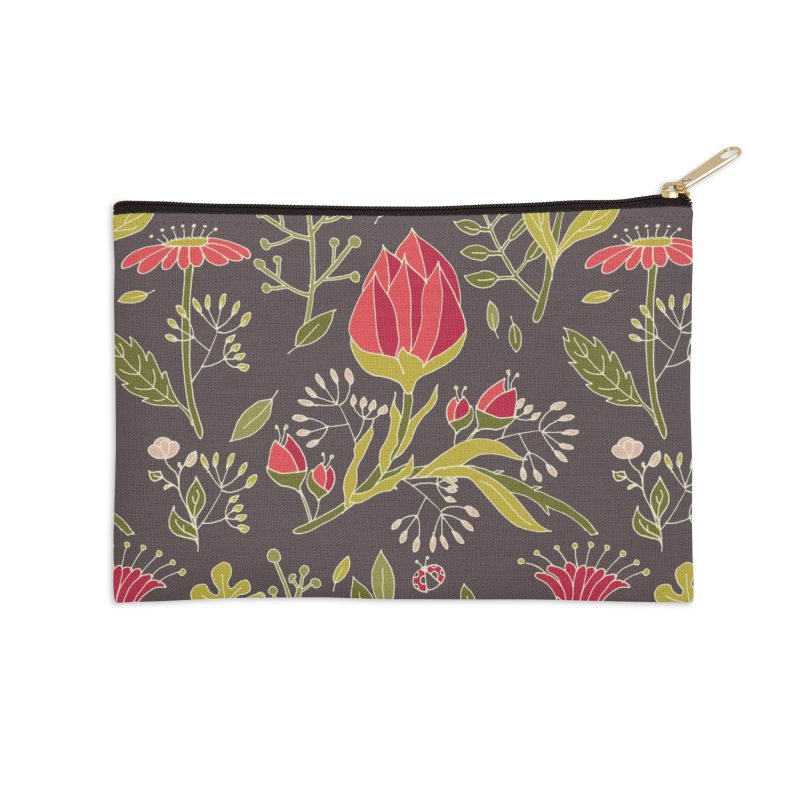 Sylvan Escape - Theme Accessories Zip Pouch by milenabdesign's Artist Shop