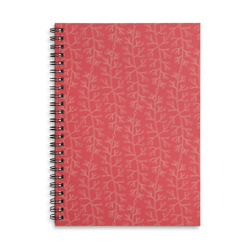 Sylvan Whisper Accessories Lined Spiral Notebook by milenabdesign's Artist Shop