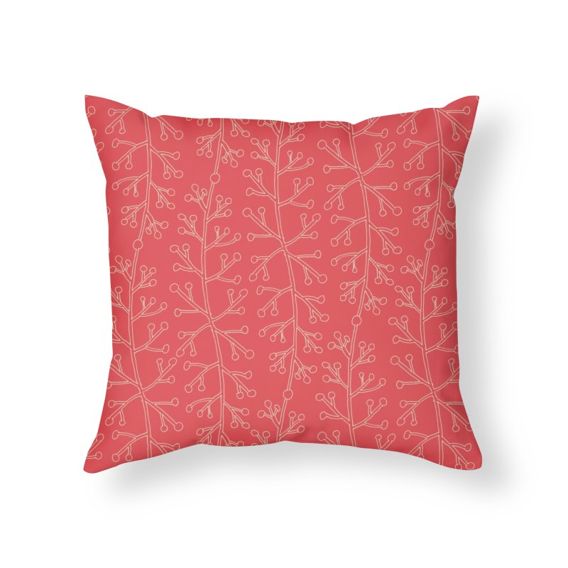 Sylvan Whisper Home Throw Pillow by milenabdesign's Artist Shop
