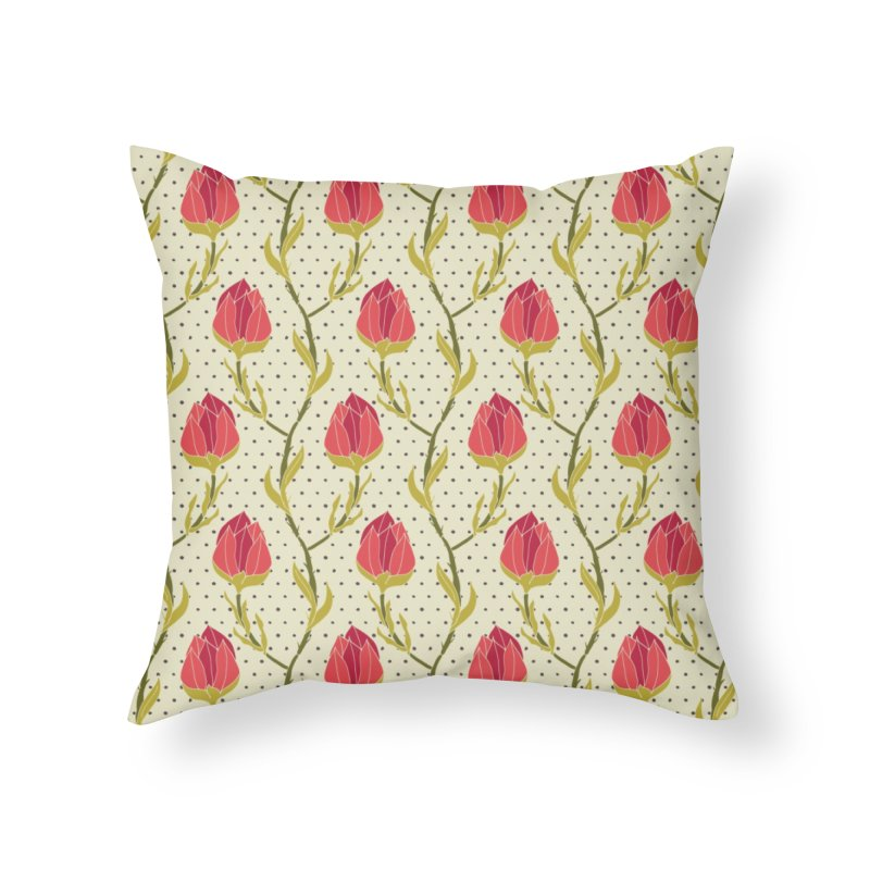Sylvan Chains Home Throw Pillow by milenabdesign's Artist Shop