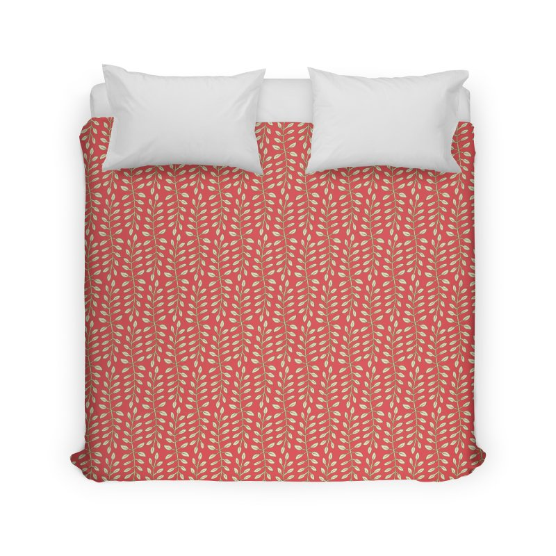 Sylvan Folly-age Home Duvet by milenabdesign's Artist Shop