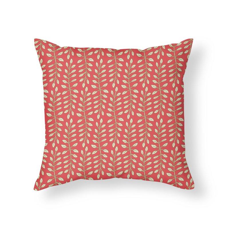 Sylvan Folly-age Home Throw Pillow by milenabdesign's Artist Shop
