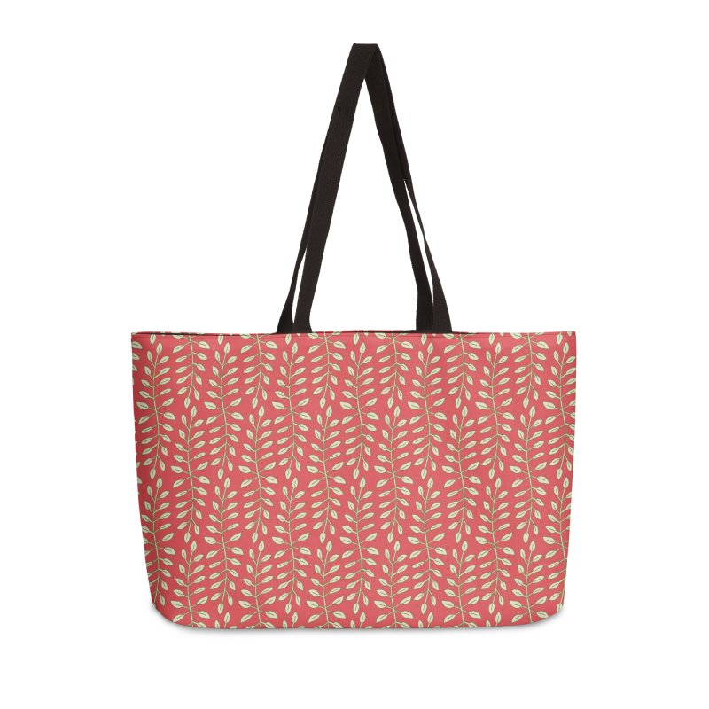 Sylvan Folly-age Accessories Weekender Bag Bag by milenabdesign's Artist Shop