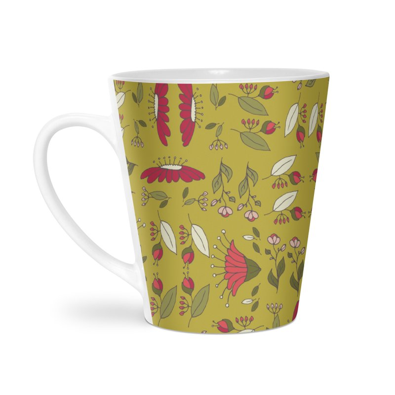 Sylvan Army Accessories Latte Mug by milenabdesign's Artist Shop