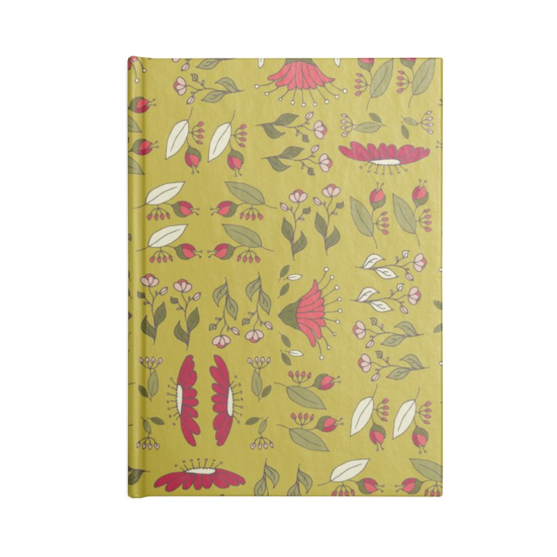 Sylvan Army Accessories Blank Journal Notebook by milenabdesign's Artist Shop