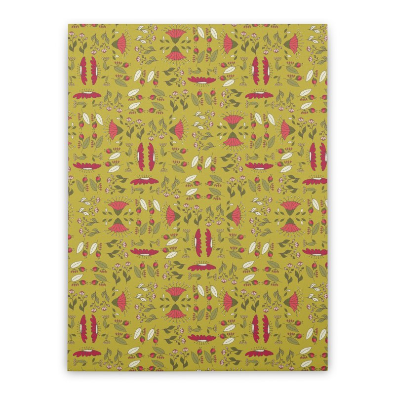 Sylvan Army Home Stretched Canvas by milenabdesign's Artist Shop
