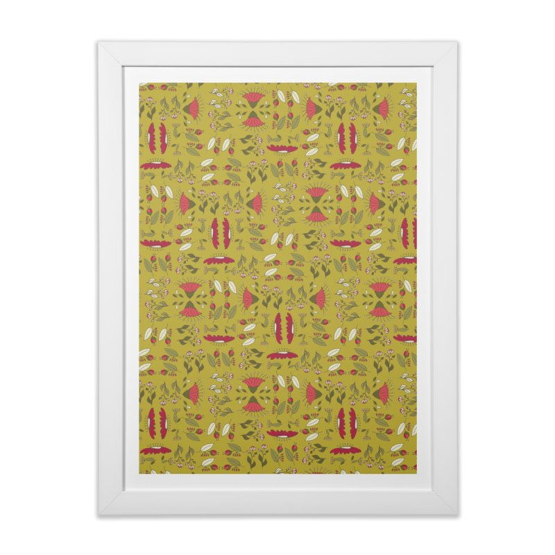 Sylvan Army Home Framed Fine Art Print by milenabdesign's Artist Shop