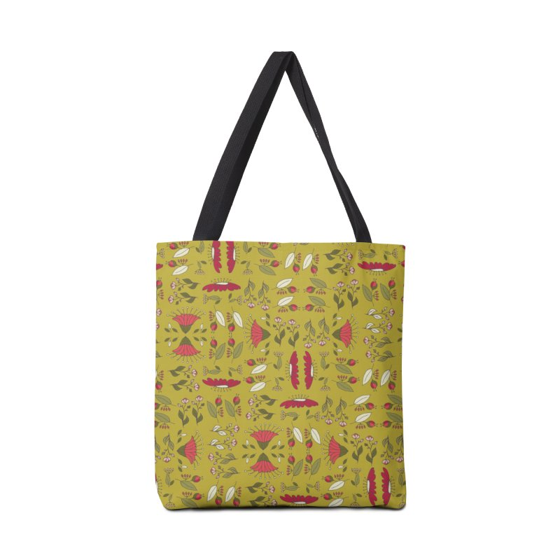 Sylvan Army Accessories Tote Bag Bag by milenabdesign's Artist Shop
