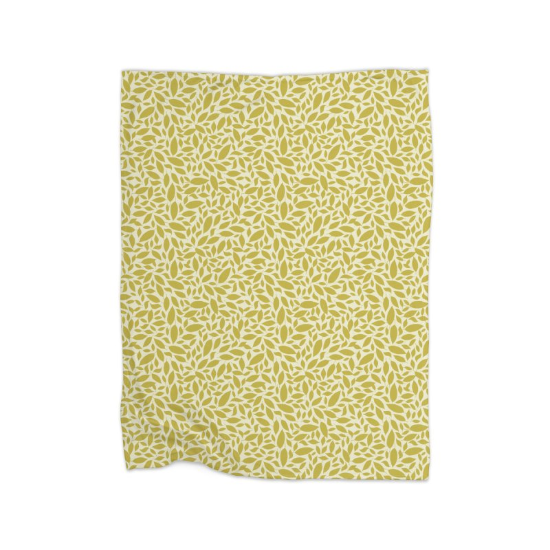 Sylvan Gold Home Blanket by milenabdesign's Artist Shop