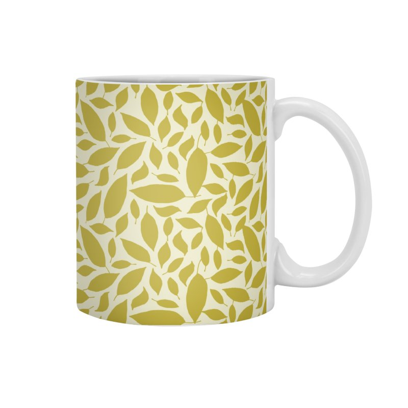 Sylvan Gold Accessories Mug by milenabdesign's Artist Shop
