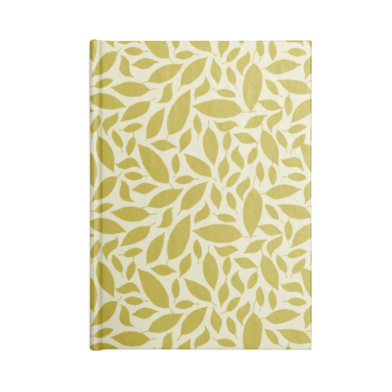 Sylvan Gold Accessories Blank Journal Notebook by milenabdesign's Artist Shop