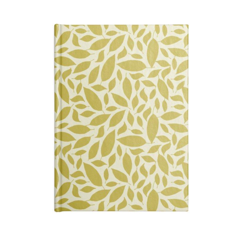 Sylvan Gold Accessories Notebook by milenabdesign's Artist Shop