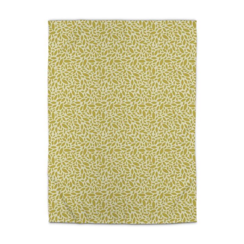 Sylvan Gold Home Rug by milenabdesign's Artist Shop