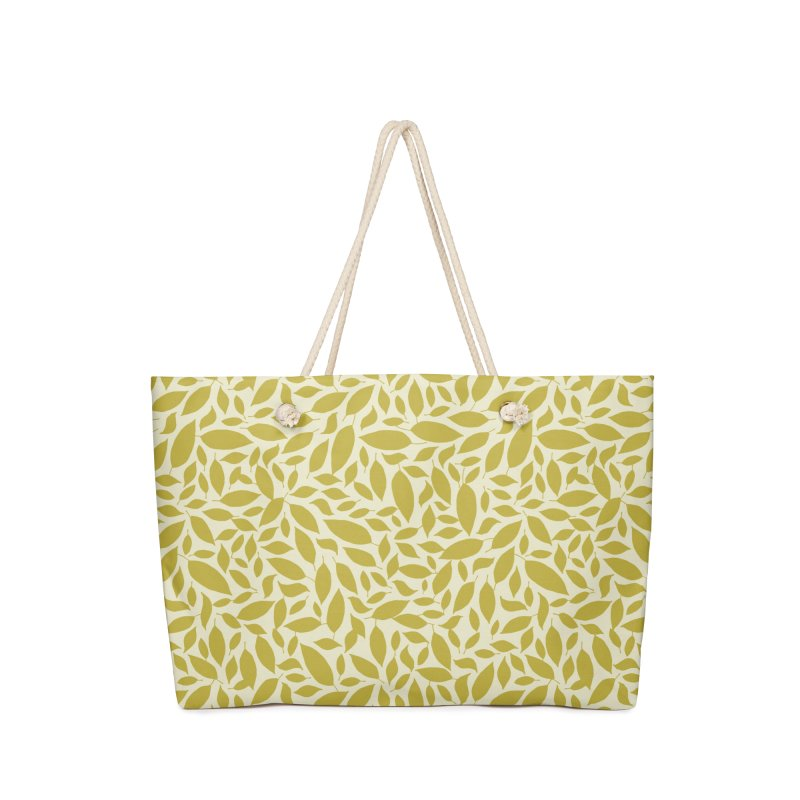 Sylvan Gold Accessories Bag by milenabdesign's Artist Shop