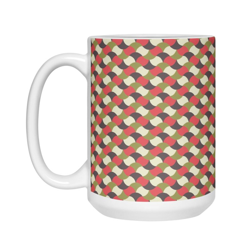 Sylvan Braided Accessories Mug by milenabdesign's Artist Shop