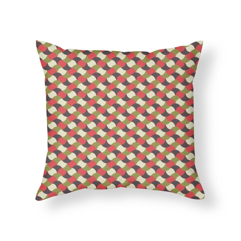 Sylvan Braided Home Throw Pillow by milenabdesign's Artist Shop