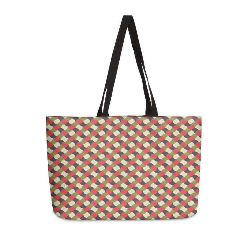Sylvan Braided Accessories Weekender Bag Bag by milenabdesign's Artist Shop