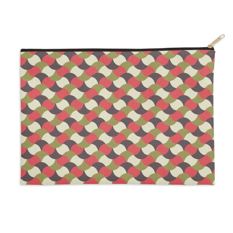 Sylvan Braided Accessories Zip Pouch by milenabdesign's Artist Shop