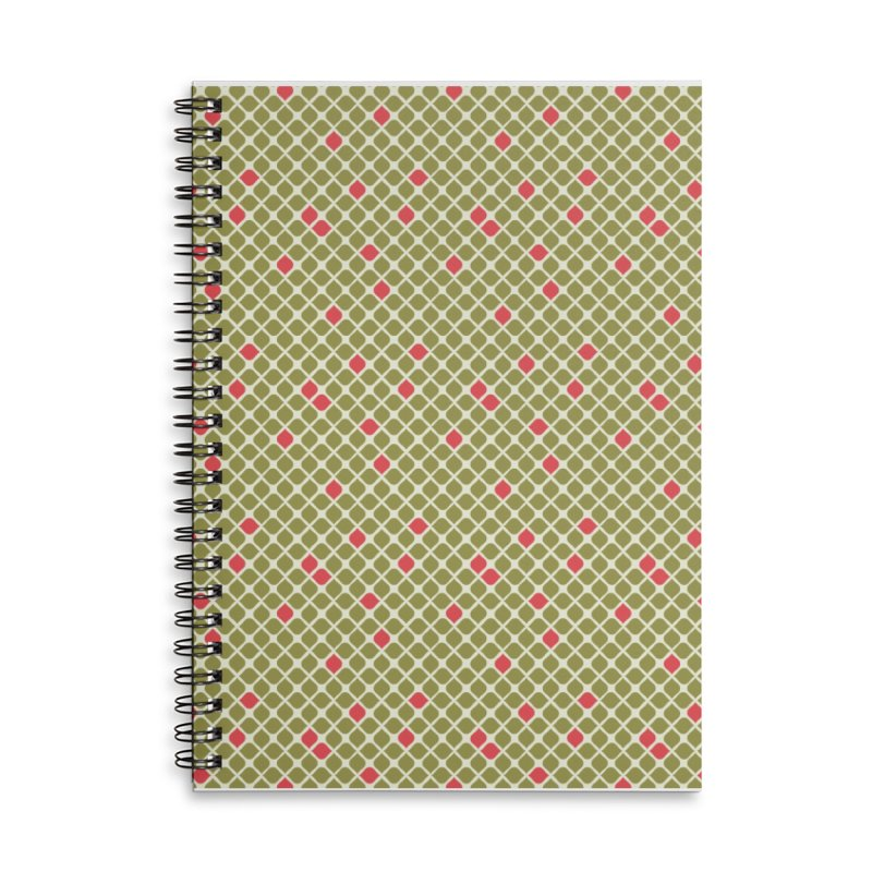 Sylvan 1967 Accessories Lined Spiral Notebook by milenabdesign's Artist Shop