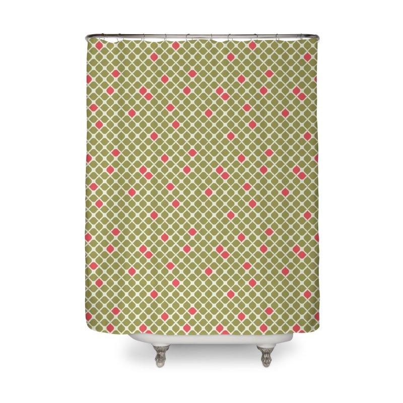 Sylvan 1967 Home Shower Curtain by milenabdesign's Artist Shop