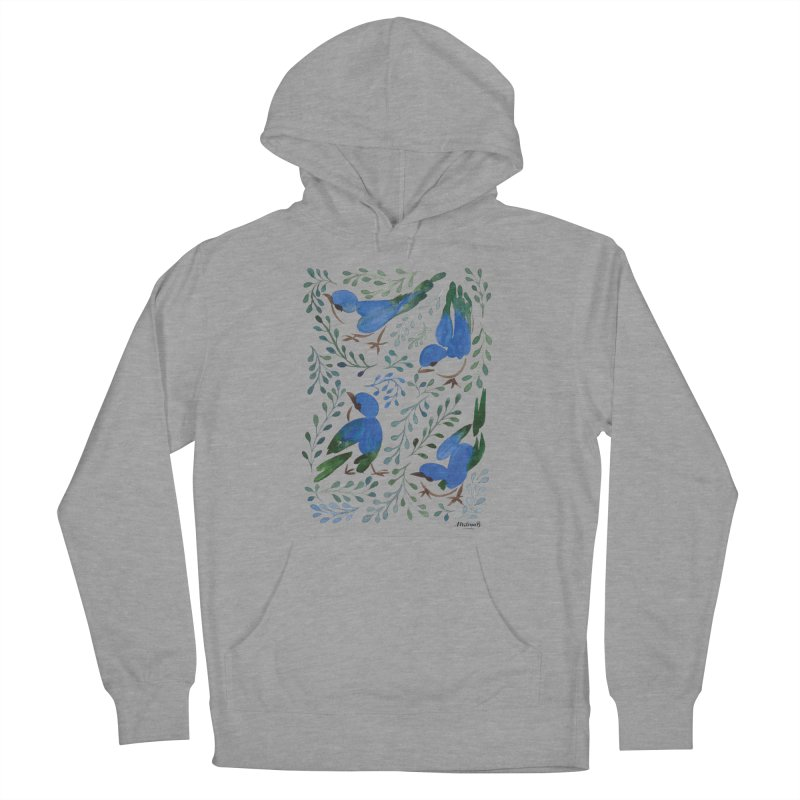 Birds in Summer Women's Pullover Hoody by milenabdesign's Artist Shop