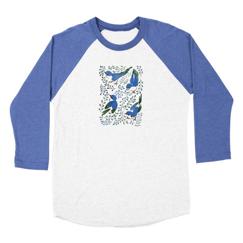 Birds in Summer Women's Longsleeve T-Shirt by milenabdesign's Artist Shop