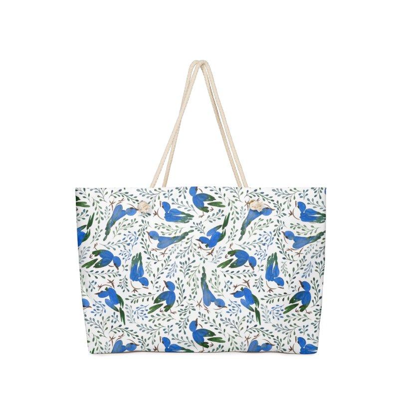 Birds in Summer Accessories Bag by milenabdesign's Artist Shop