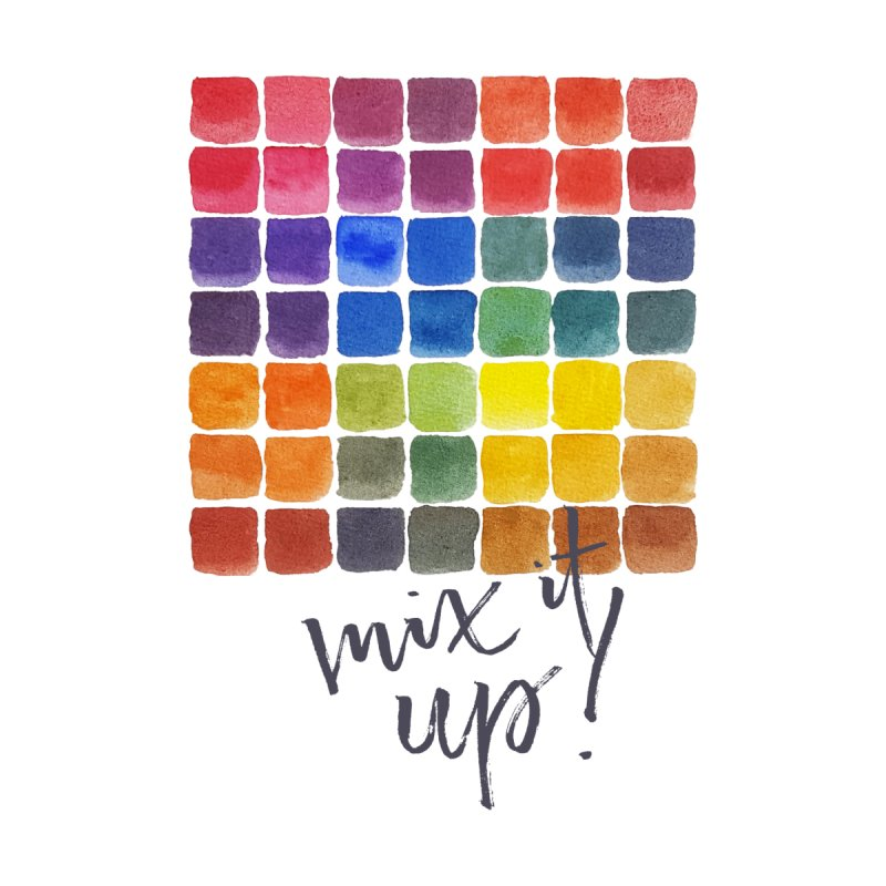Mix it Up! - Mixing Chart Women's V-Neck by milenabdesign's Artist Shop