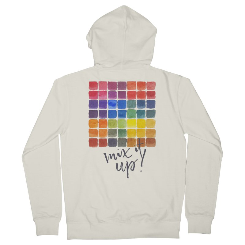 Mix it Up! - Mixing Chart Women's Zip-Up Hoody by milenabdesign's Artist Shop